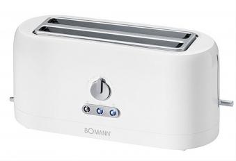 Toaster / Langschlitztoaster Bomann TA245CB weiß Bild 1