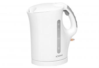 Wasserkocher Bomann WK5011WS 1,7 Liter weiß Bild 1