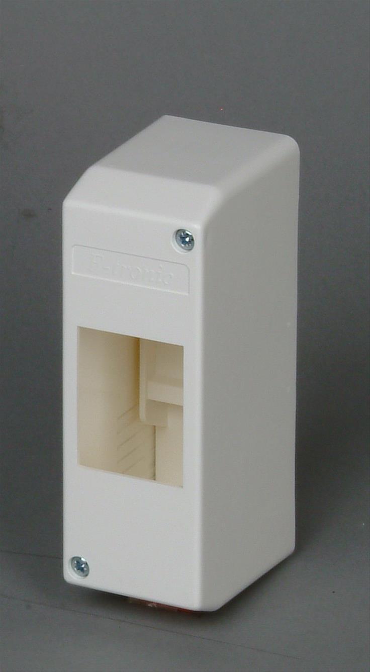 Kopp Aufputz - Verteilerkasten ohne Tür für 2 Pole Bild 1