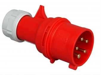 Kopp CEE Stecker rot 5polig Bild 1
