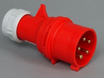 Kopp CEE Stecker rot Bild 1