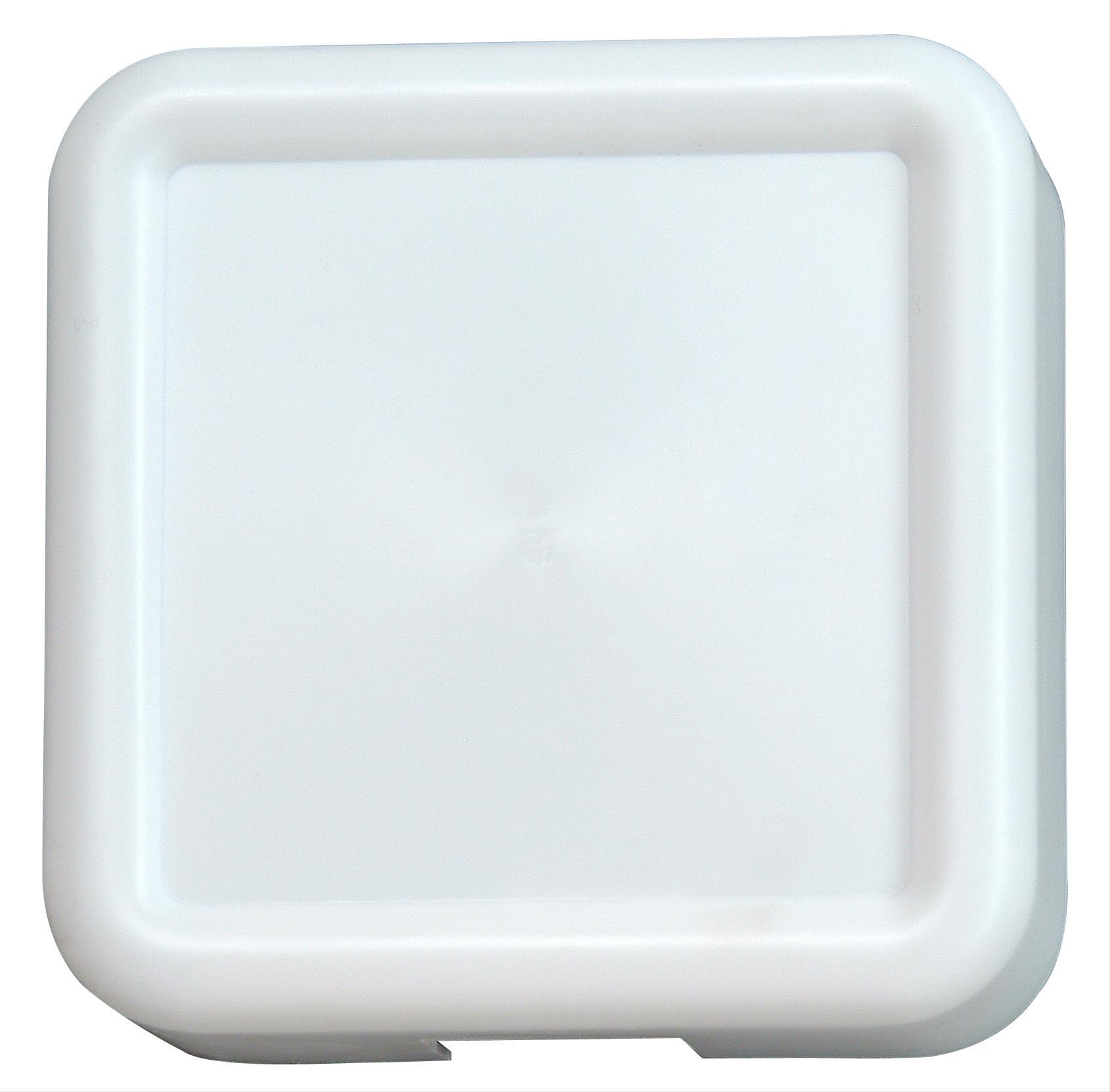 Kopp Doppelklang-Gong Quadrat weiss Bild 1