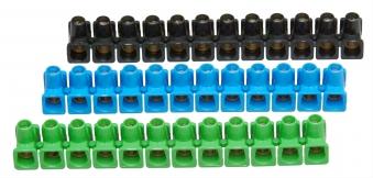 Kopp Dosenklemmleiste 12 pol. 2,5mm² 3 Stück farbig Bild 1