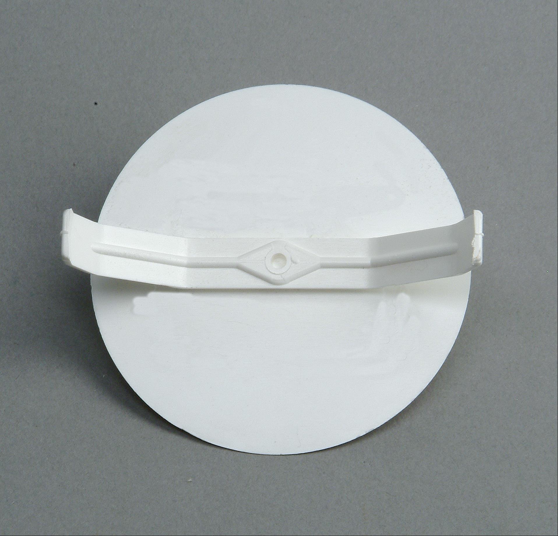 Kopp Federdeckel 60mm für Schalterdose weiß Bild 1