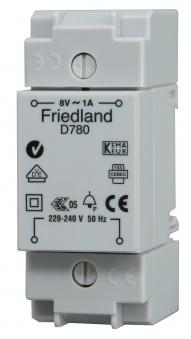 Kopp Klingeltransformator für Aufputz - und Verteilungseinbau 1A Bild 1