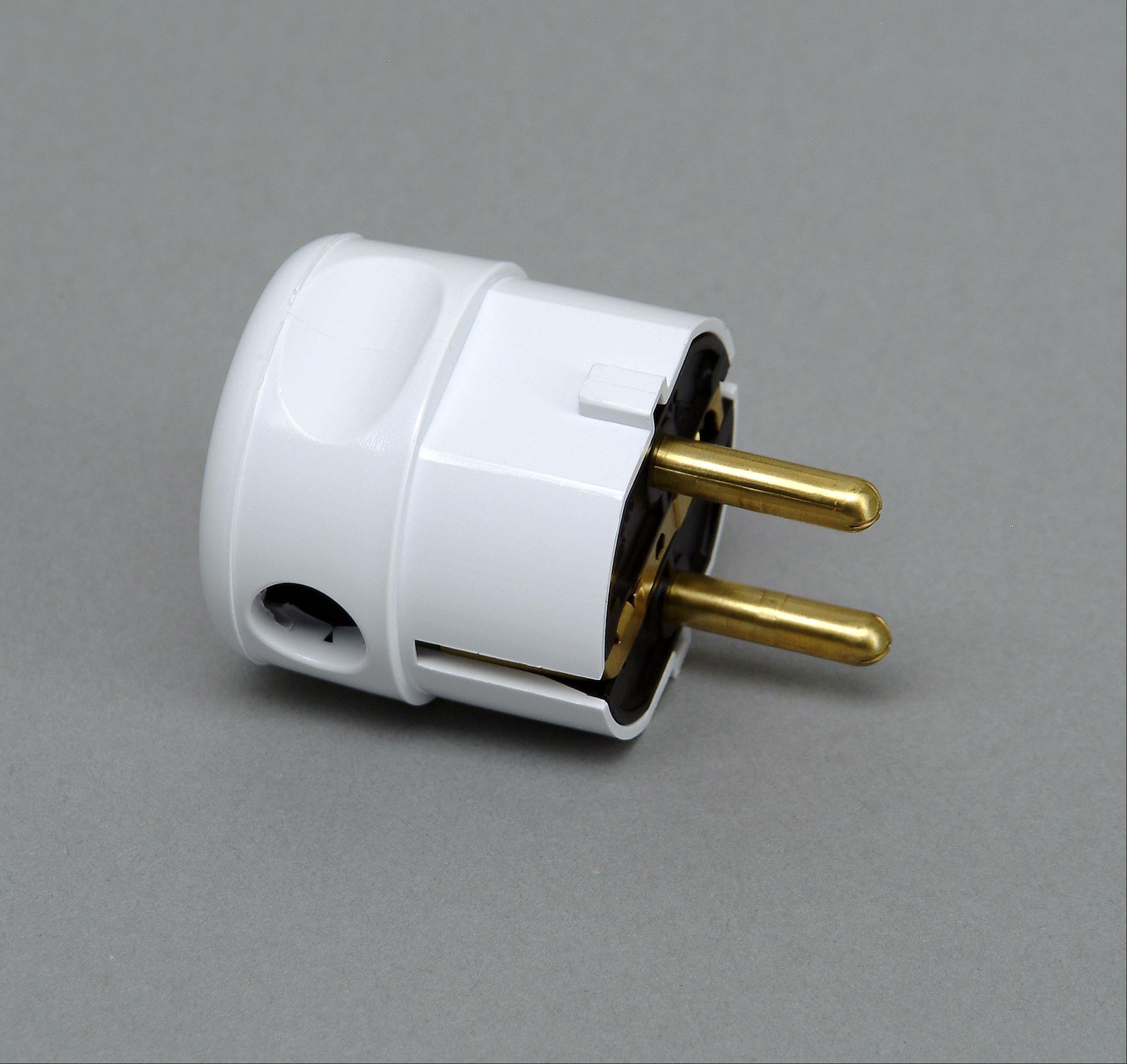 Kopp Kunststoff - Schutzkontakt - Winkelstecker arktis - weiss Bild 1