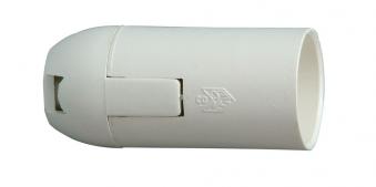 Kopp Lampenfassung / Isolierstoff-Fassung E14 weiß Bild 1