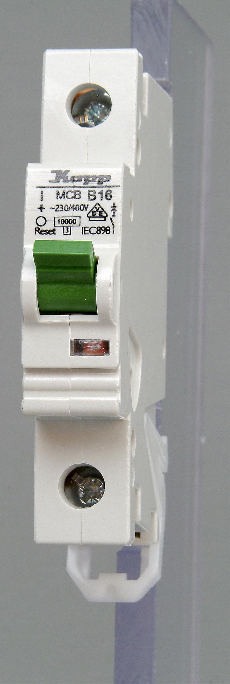 Kopp Leitungsschutzschalter 1polig  B16 Bild 1