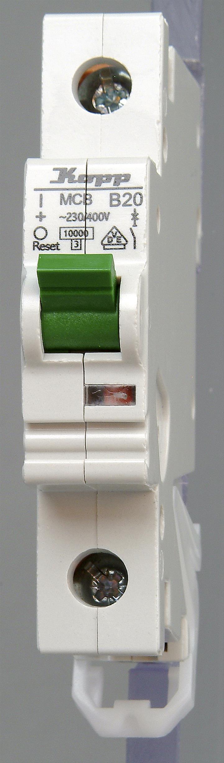 Kopp Leitungsschutzschalter 1polig B20 Bild 1