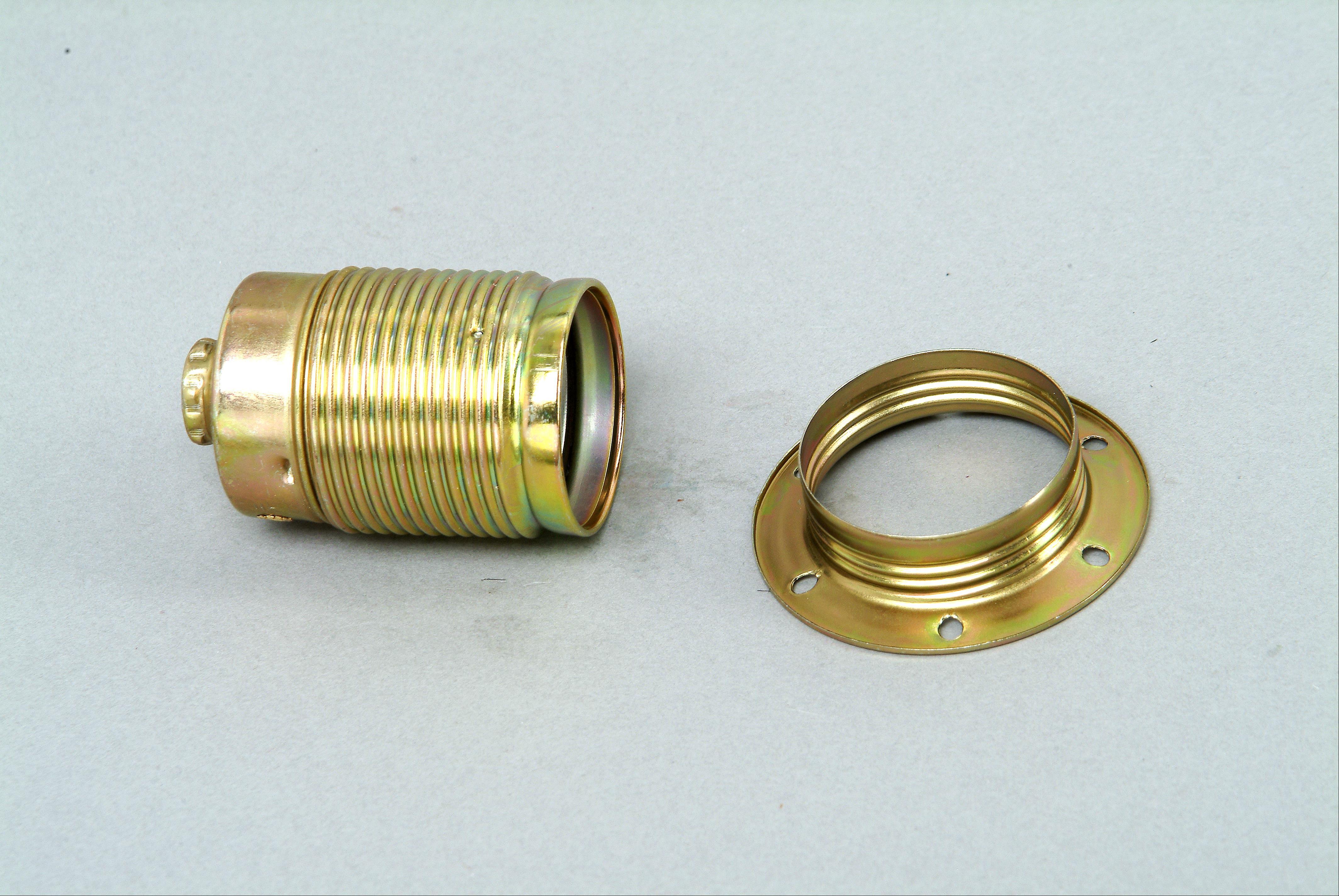 Kopp Metall - Fassung mit Außengewindemantel E27 Bild 1