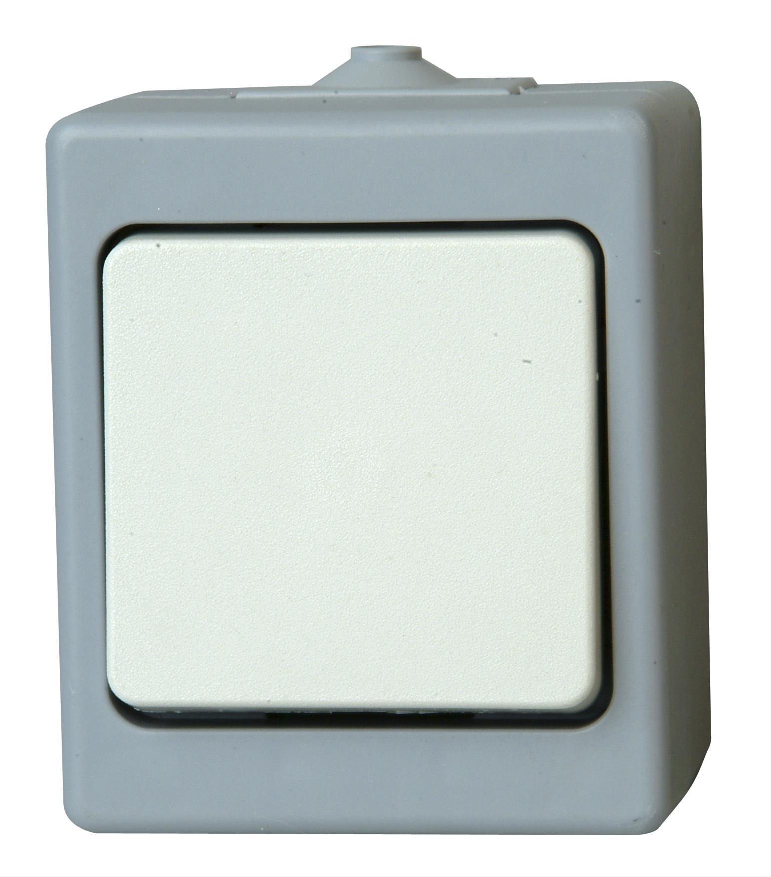 Kopp STANDARD Taster grau Bild 1