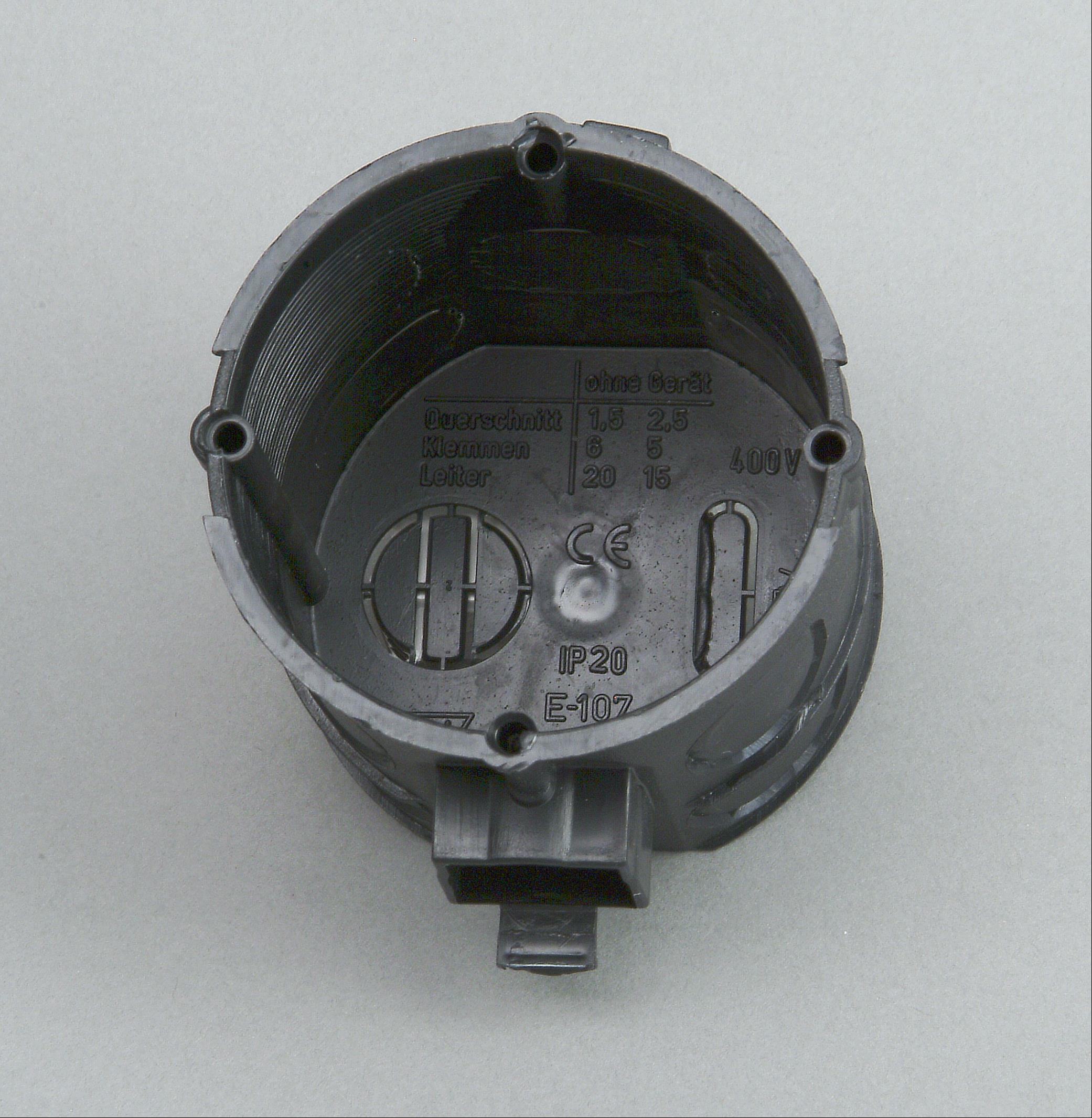 Kopp Schalterdose Unterputz 60mm 41mm tief Profi-Pack 25 Stück Bild 1
