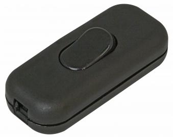 Kopp Schnurzwischenschalter 1polig  schwarz Bild 1