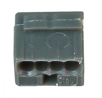 Kopp Steckklemme 4 Klemmstellen 0,6 - 0,8mm² 10 Stück Bild 1