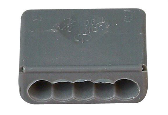 Kopp Steckklemme 5 Klemmstellen 1,5 - 2,5mm² 10 Stück Bild 1