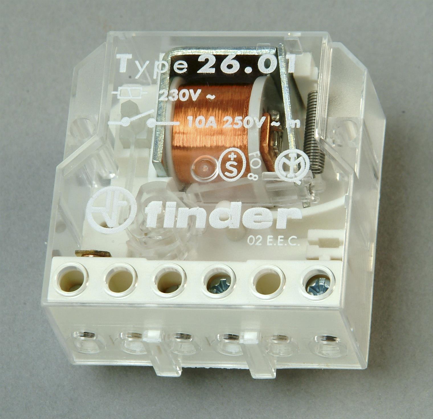 Kopp Stromstoßschalter für Verteilerdose Bild 1