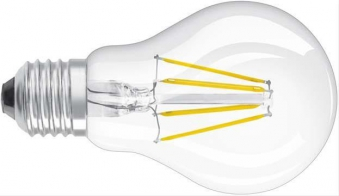 LED Lampe Birne Retrofit Filament 2700K, 470 lm