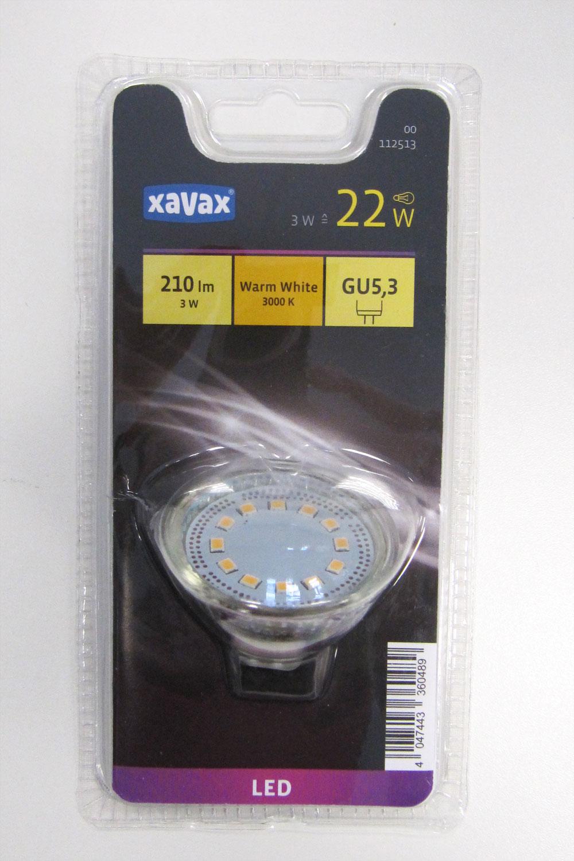 LED Lampe / Glühbirne 3W warmweiß GU5,3 Bild 1