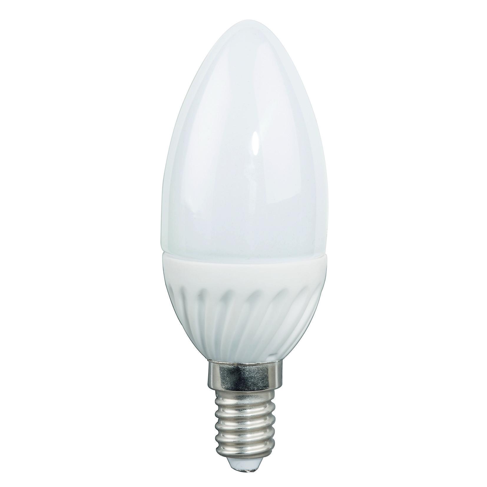 LED-Lampe / LED Leuchtmittel E14/3W 245LM Kerzenlampe warmweiß Bild 1