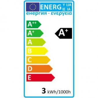 LED-Lampe / LED Leuchtmittel E14/3W 245LM Kerzenlampe warmweiß Bild 2