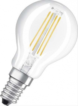 LED Lampe Tropfen RetrofiFilament 2700K, 430 lm Bild 1