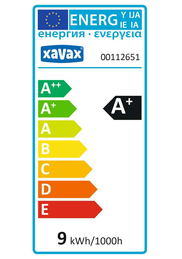 LED Lampe XAVAX E27 230V Birne 9,5W 806lm Bild 2