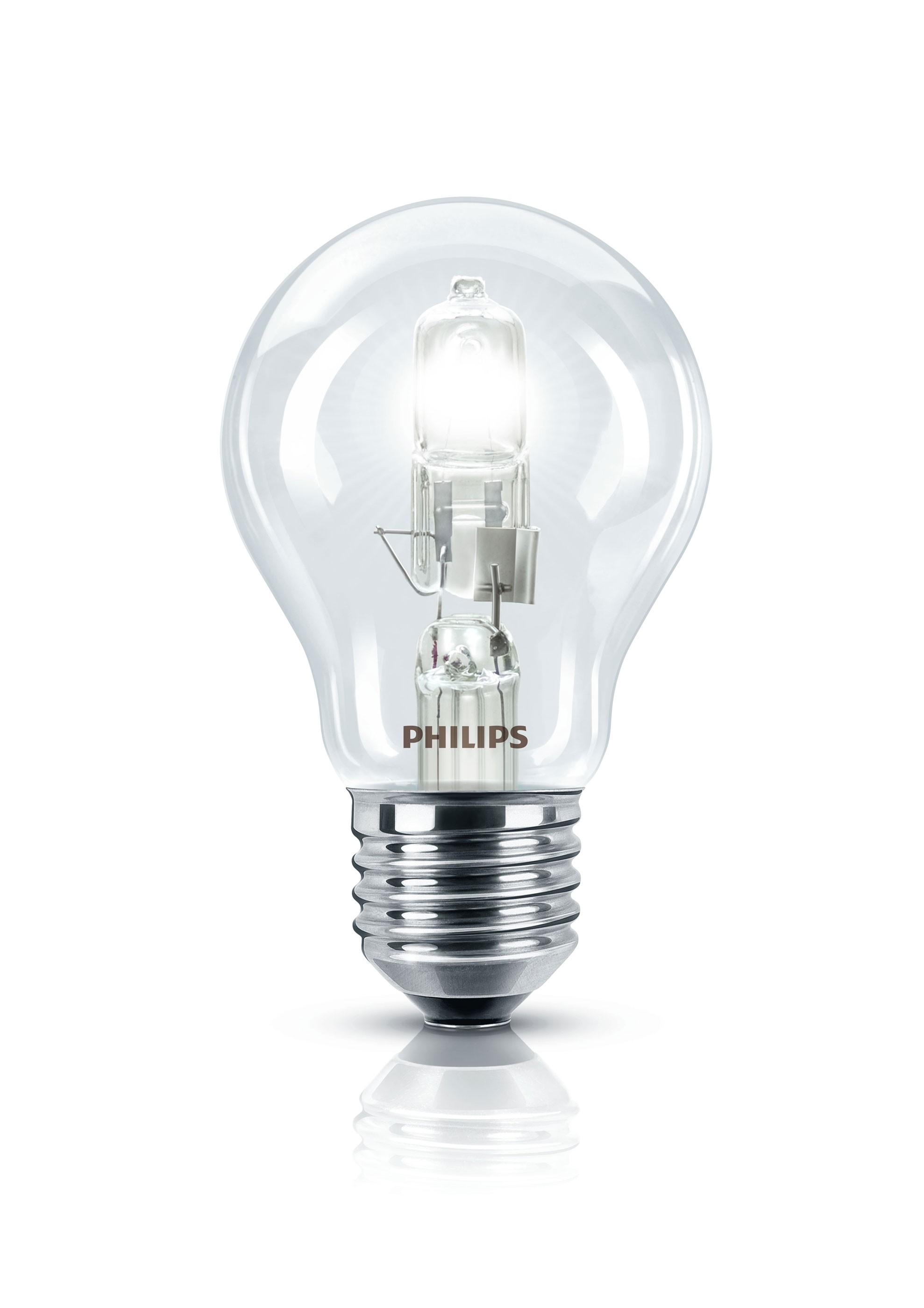 Philips EcoClassic30 Halogenlampe E27 dimmbar 25Watt warm weiß Bild 1