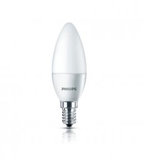 Philips LED Kerzenlampe E14 5,5 Watt Bild 1
