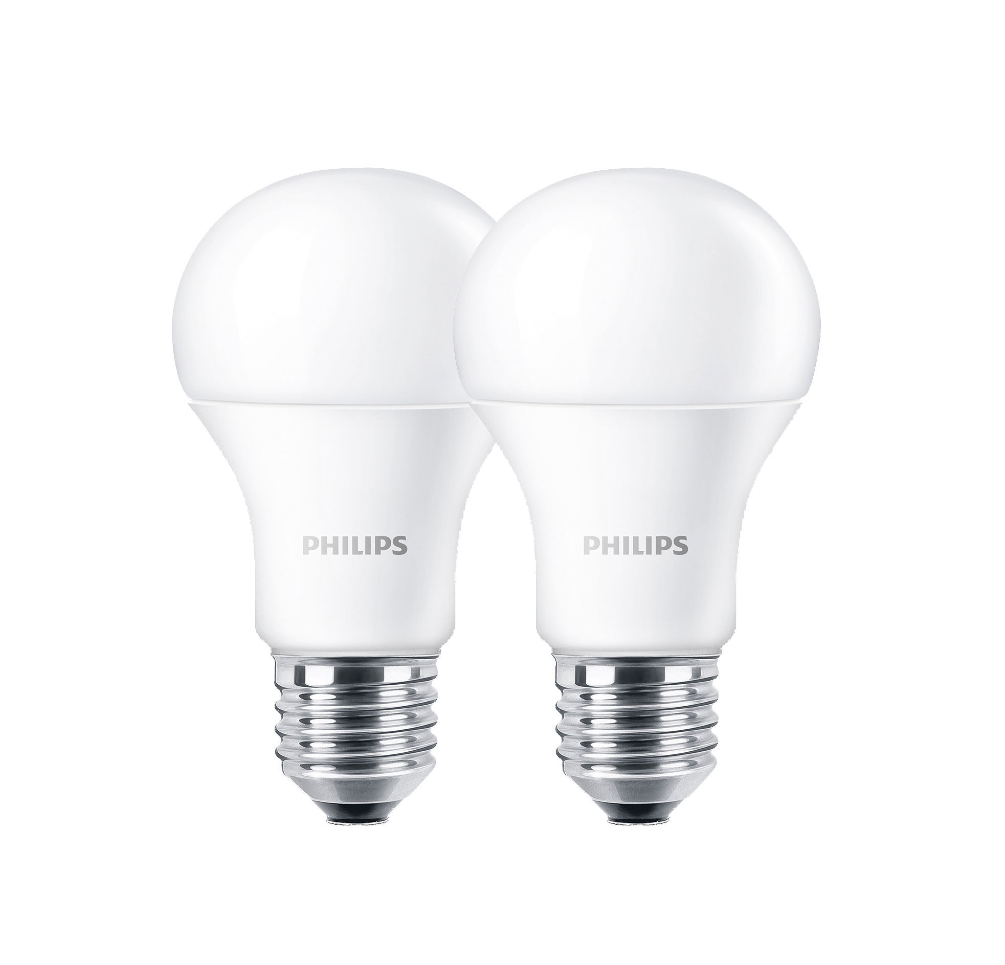 Philips LED-Normallampe E27 9 Watt 2 Stück Bild 1