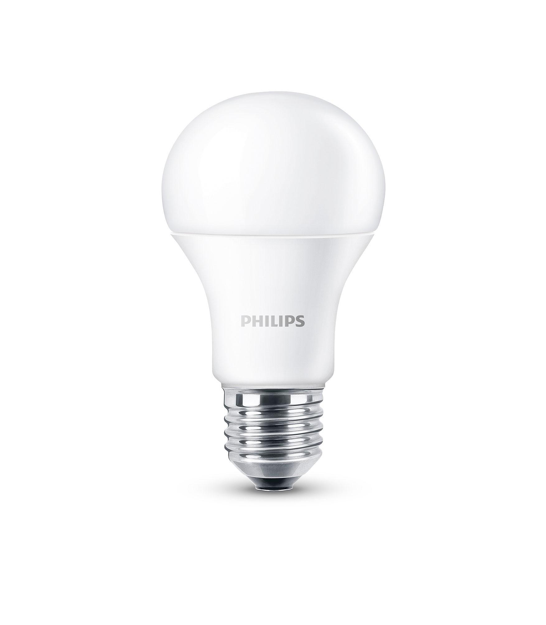 Philips LED Normallampe E27 9 Watt matt Bild 1