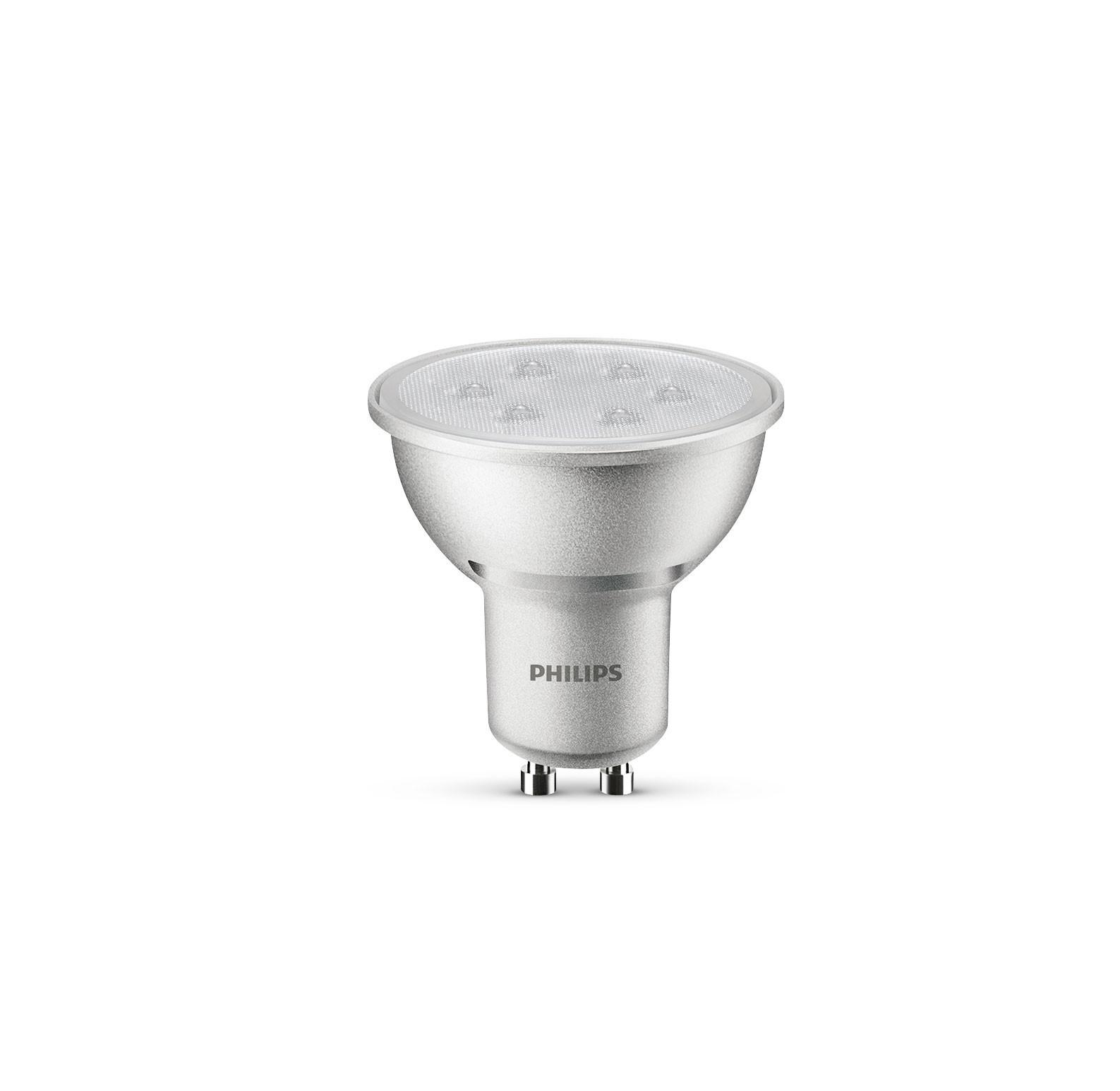 Philips LED Reflektorlampe GU10 4 Watt dimmbar Bild 1