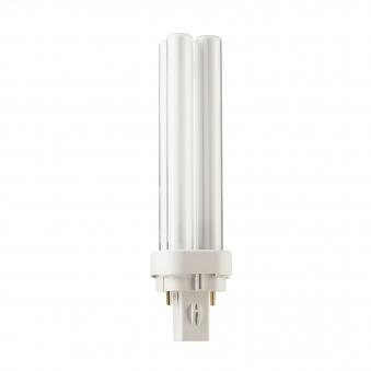 Philips Leuchtstofflampe EcoTL Super 80 18Watt 827 dimmbar L 604mm Bild 1