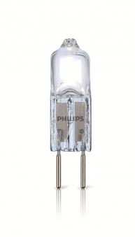 Philips Niedervolt Halogenleuchtmittel Stift G4 7W 12V CL 2BC/10 Bild 1