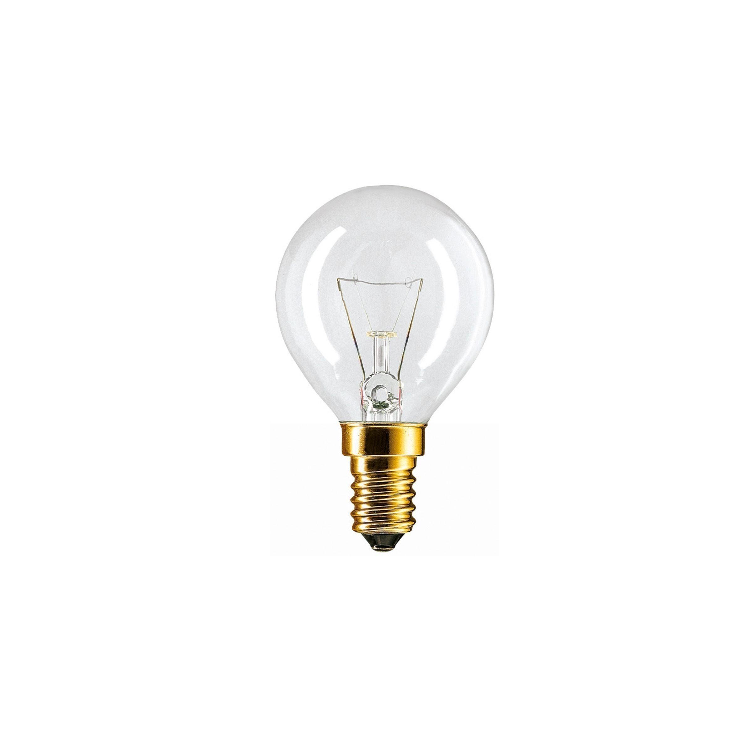Philips Spezialglühlampe für Ofen / Backofenlampe P45 E14 40W Bild 1