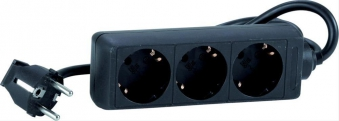 Steckdosenleiste IP201,4m 3-fach H05VV-F3G1,0 Bild 1