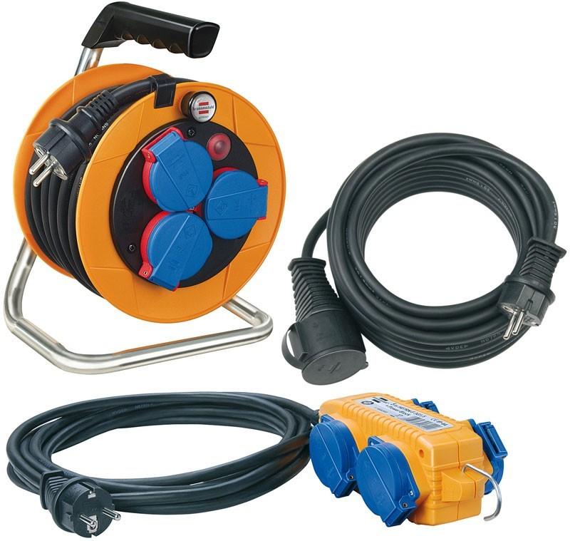 Brennenstuhl Power Pack Kabeltrommel Verlängerung Stromverteiler Set Bild 1