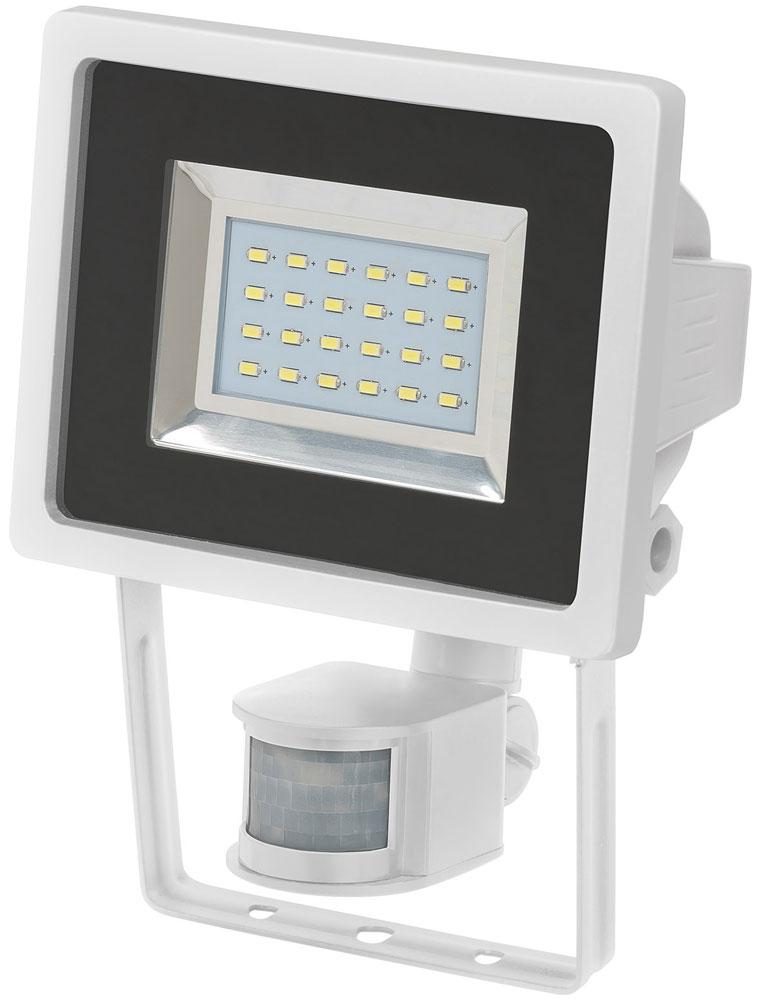 Brennenstuhl SMD-LED Leuchte L DN 2405 12 W mit Bewegungsmelder weiß Bild 1
