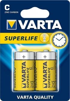 VARTA Super Life C 1,5 Volt LR14 2 Stück