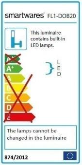 Smartwares LED-Scheinwerfer FL1-DOB20 20W 1500lm Bild 2