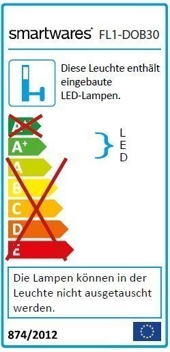 Smartwares LED-Scheinwerfer FL1-DOB30 30W 2250lm Bild 2