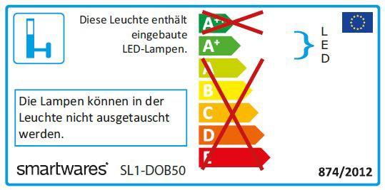Smartwares LED-Strahler Sicherheitsstrahler SL1-DOB50 50W 3750lm Bild 2