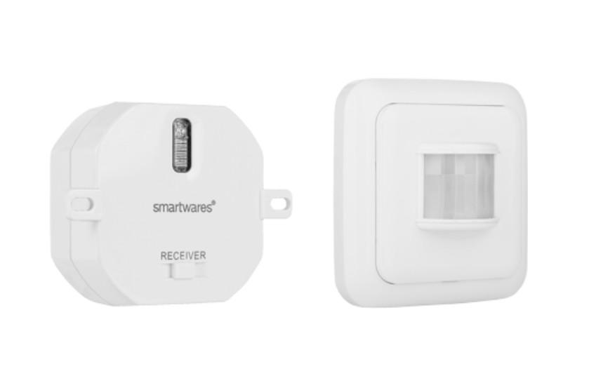 Smart Home Funk Set SH5-SET mit Bewegungsmelder für Bad / WC Bild 1
