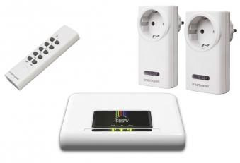 Smart Home HomeWizard Starterset Gateway mit offenem Protokoll Bild 1
