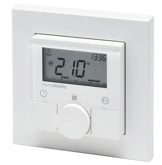 HomeMatic Funk-Wandthermostat HM-TC-IT-WM-W-EU für Smart Home