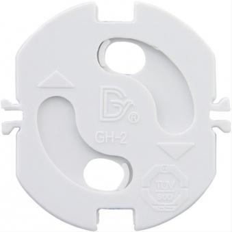 Kinderschutz-Plättchen mit Drehautomatik weiß Bild 1
