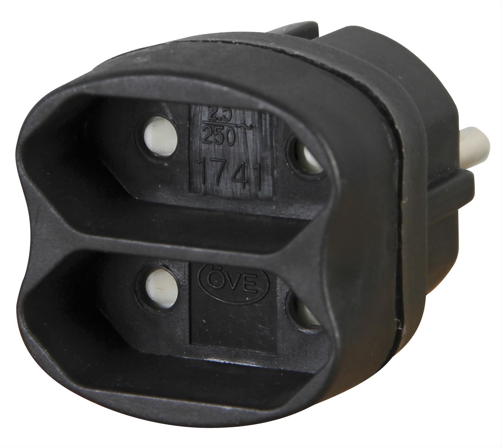 Kopp 2fach Adapter schwarz Bild 1
