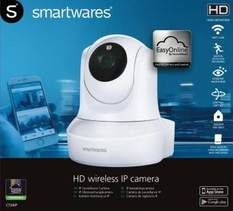 Überwachungskamera / IP-Netzwerkkamera C724IP Indoor Smartwares weiß Bild 3