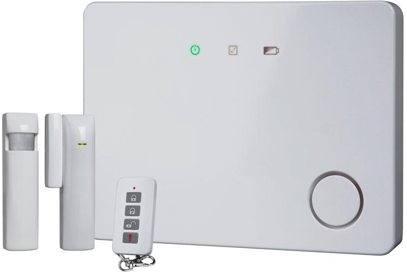 Funk Alarmanlagen Set SW HA 701IP Smartwares weiß Bild 1