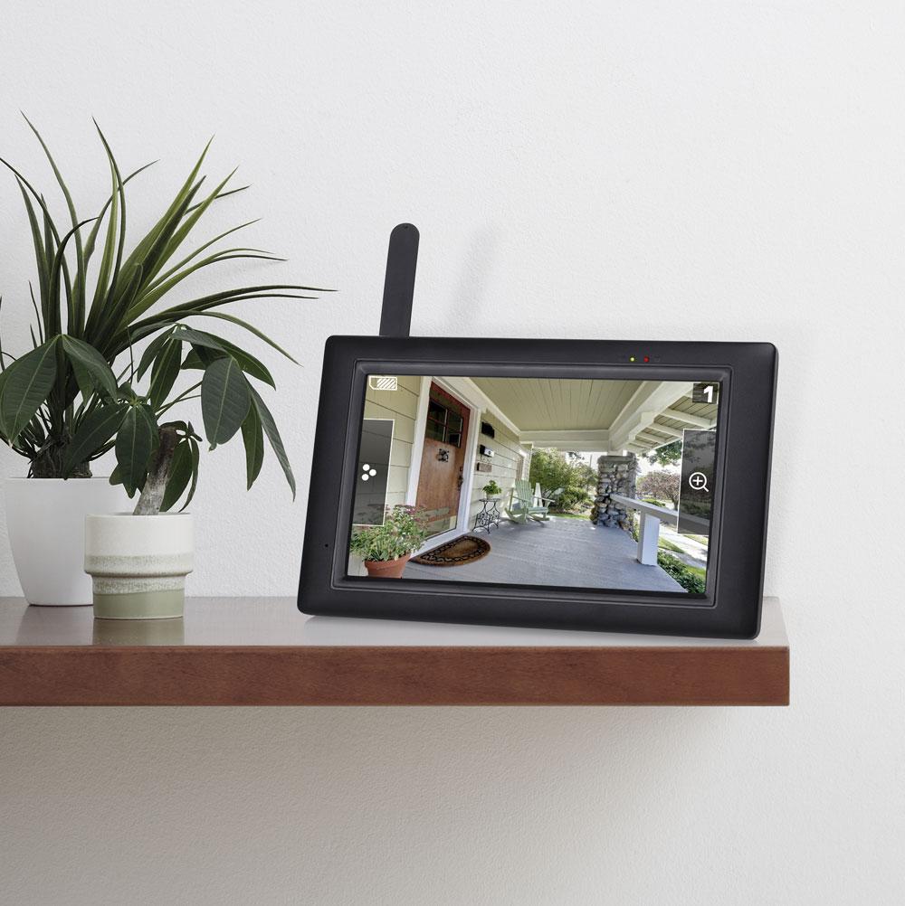 Smartwares Überwachungskamera mit Touchscreen CS96DVR Bild 3
