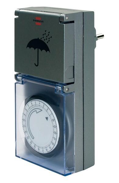 brennenstuhl zeitschaltuhr steckdosen schaltger t mz 44. Black Bedroom Furniture Sets. Home Design Ideas